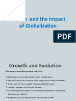 Growth and the Impact of Globalization (1)