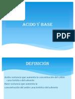 Acido y Base Ppt