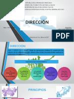 DIRECCIÓN- administracion