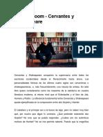 Harold Bloom - Cervantes y Shakespeare