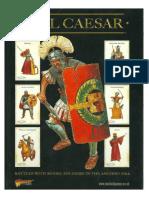 Hail Caesar - Rulebook