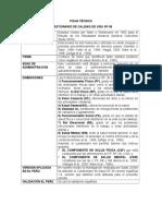 Ficha Técnica CUESTIONARIO DE CALIDAD DE VIDA SF-36