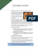 Tipos de Grasas y Aceites (1)