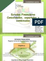Diapositiva de Estados Consolidados