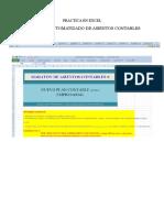Practica en Excel - Automatizacion de Libro Diario