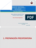 3 2016 Preparación Preoperatoria