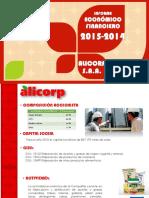 Análisis Finaciero Alicorp s