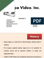 209541799 Sampa Video Inc Case Study