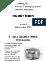 Lecture 6 - Induction Motors