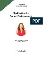 Emily Fletcher - Meditation for Super Performance Masterclass