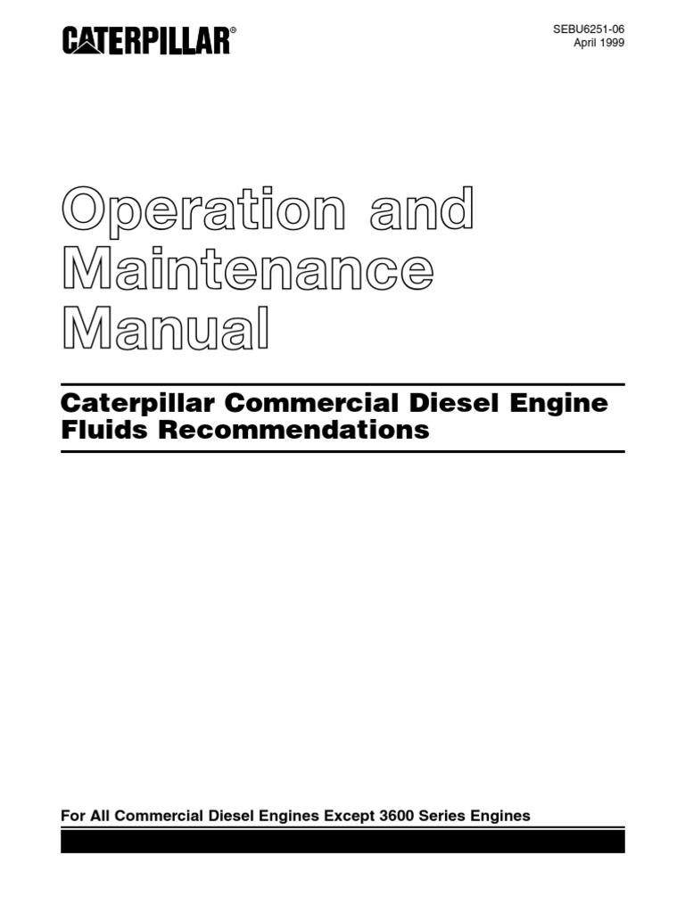26964637 caterpillar operation and maintenance manual motor oil