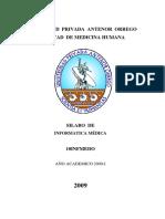 Informatica Medica 2009