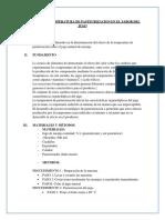 Efecto de La Temperatura de Pasteurizacion en El Sabor Del Jugo