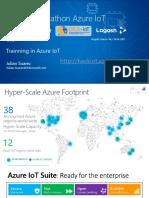 Trainning Azure IoT