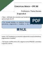 Estrutura Conceitual Basica CPC 00