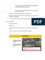 SC Diseño de Plantas Para Un Proyecto Brownfield de Cianuración de Plata