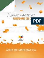 Presentación Curriculo de Matemática