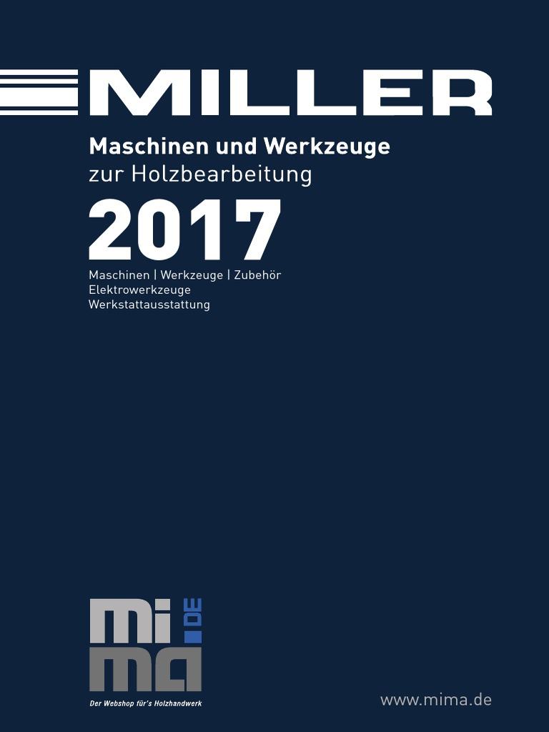 Miller Katalog 2017