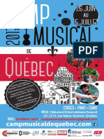 Camp musical de Québec