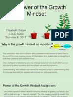 edld 5302 assignment 1growth mindset plan- salyer e