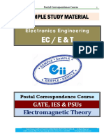 EMFT Electronics GATE IES PSU Study Materials