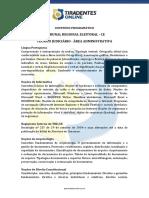 PDF Conteudoprogramatico Tre Ce Tecnicojudiciario Administrativo Medio