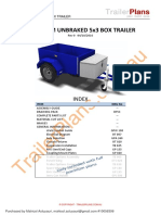 750kg 5x3 Box Trailer Unbraked Rev0