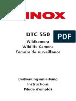 MINOX DTC 550 Instructions