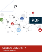 Genesys University Curriculum Guide 2016