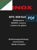 MINOX DTC 450 Slim Instructions