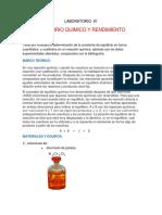 LABORATORIO equilibrio químico