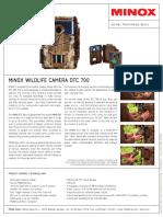 MINOX DTC 700 Product Information