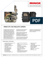 MINOX DTC 550 Product Information En