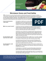 Microwave Ovens and Food Safety