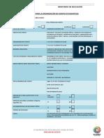 Formato de Planificacion Comision Deportiva