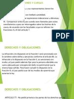 DERECHOS Y OBLIGACIONES Y CARGAS PROCESALES DIAPOSITIVAS.pptx
