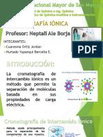 Cromatografia Ionica Final2015