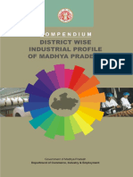 Compendium District Wise Industrial Profile of Madhya Pradesh