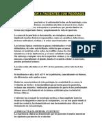 Informacion a Pacientes Con Psoriasis
