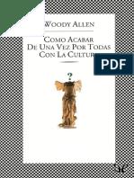 Acabar Con La Cultura, Allen W.