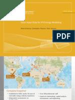 Analysis of Solar Input Data for SAM 20122