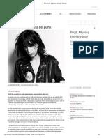 Patti Smith_ La Poetisa Del Punk