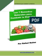 Reporte 7 Remedios Naturales Para Combatir La Diabetes