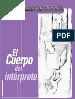 El cuerpo del intérprete- Cuadernos Picadero.pdf