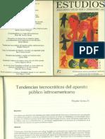 OCHOA HENRÍQUEZ-Estudios Tendencia Tecnocraticas Del Aparato Publico Latinoamericano