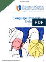 Lenguaje Corporal_ la Guía Completa