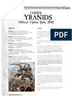 FAQ Tyranids 2010 Official codex update