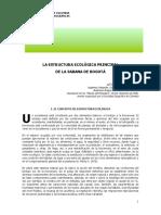 Estructura ecológica de la Sabana de Bogotá