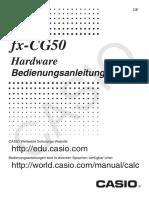 fx-CG50 Hardware-Anleitung
