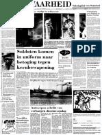 Vrij Nederland legt hand op rapport over coup van Bouterse